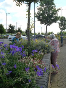1st June volunteers at the Park and Ride