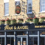Swan and Angel frontage